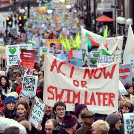 COP-21 Demonstration in Paris