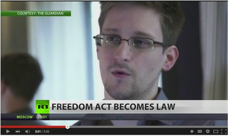 Edward Snowden Comments on USA Freedom Act Passage