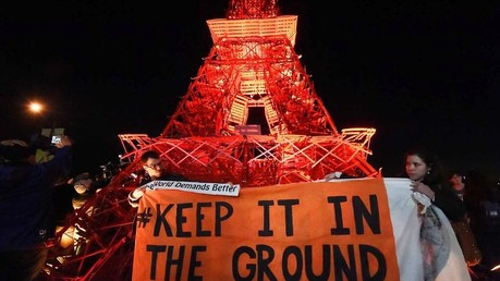 Keep it in the Ground Demonstration at COP 21