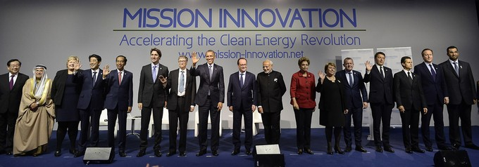 16 of the 20 Government Leaders who Pledged to Double their Nation's Investment in Clean Energy over the Next 5 Years