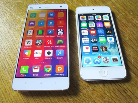 Xiaomi Mi vs. Apple iPhone