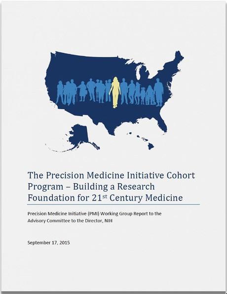 Precision Medicine Initiative Cohort Advice