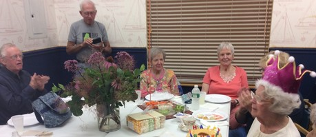 Trudie's Birthday at Awesome Seniors Meeting